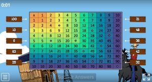 tabel perkalian 1-10