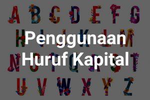 penggunaan huruf kapital