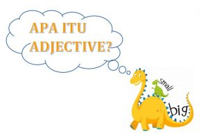apa itu adjective