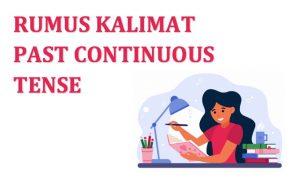 kalimat past continuous tense
