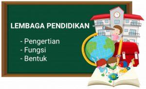 lembaga pendidikan
