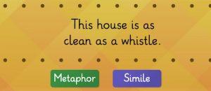metaphor vs simile