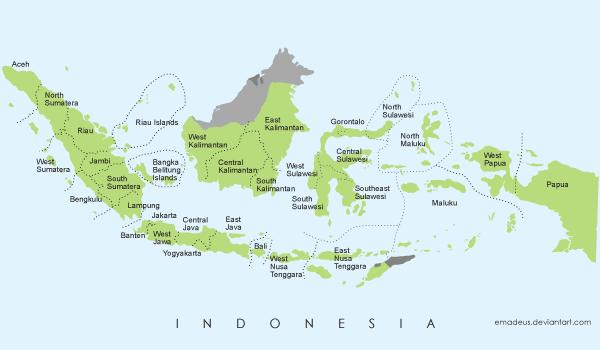 karakteristik wilayah daratan dan perairan indonesia